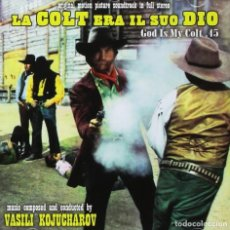 CDs de Música: LA COLT ERA IL SUO DIO / VASILI KOJUCHAROV CD BSO - GDM. Lote 152969714