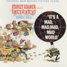 CDs de Música: IT´S A MAD, MAD, MAD, MAD WORLD / ERNEST GOLD CD BSO - KRITZERLAND. Lote 152971130