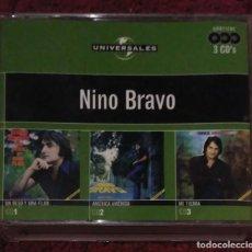 CDs de Música: NINO BRAVO - UNIVERSAL.ES - 3 CD'S 2004. Lote 153106858