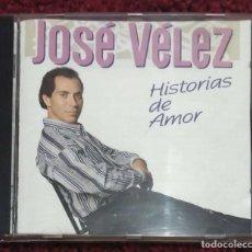 CDs de Música: JOSE VELEZ (HISTORIAS DE AMOR) CD 1995. Lote 153112994