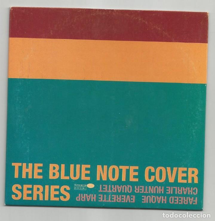 THE BLUE NOTE COVER SERIES / FAREED HAQUE - EVERETTE HARP - CHARLIE HUNTER QUARTET (CD 9 TEMAS 1997) (Música - CD's Jazz, Blues, Soul y Gospel)