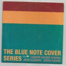 CDs de Música: THE BLUE NOTE COVER SERIES / FAREED HAQUE - EVERETTE HARP - CHARLIE HUNTER QUARTET (CD 9 TEMAS 1997). Lote 153117146