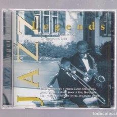 CDs de Música: VARIOS - JAZZ LEGENDS (CD 1997, MASTER TONE 0078). Lote 153121462