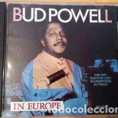 CDs de Música - Bud Powell - In Europe (CD, Comp) Label:Jazz Life Cat#: 2673212 - 153130614