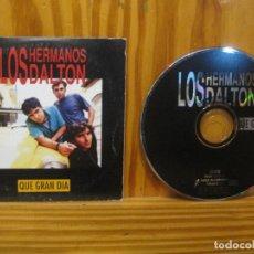 CDs de Música: LOS HERMANOS DALTON - QUÉ GRAN DÍA - CD PROMO SELLO DRO 1996.. Lote 153148026