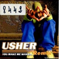 CDs de Música: USHER / YOU MAKE ME WANNA - 2 VERSIONES (CD SINGLE CARTON 1997). Lote 153227490