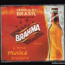 CDs de Música: CERVEJA DO BRASIL BRAHMA APRESENTA: A NOVA MÚSICA BRASILEIRA (TRAMA PROMOÇÕES ARTÍSTICAS, 2005). Lote 153240178