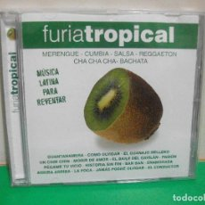CDs de Música: FURIA TROPICAL MERENGUE , CUMBIA ,SALSA , REGGAETON , CHA CHA CHA ,BACHETA CD ALBUM ¡¡. Lote 153259970