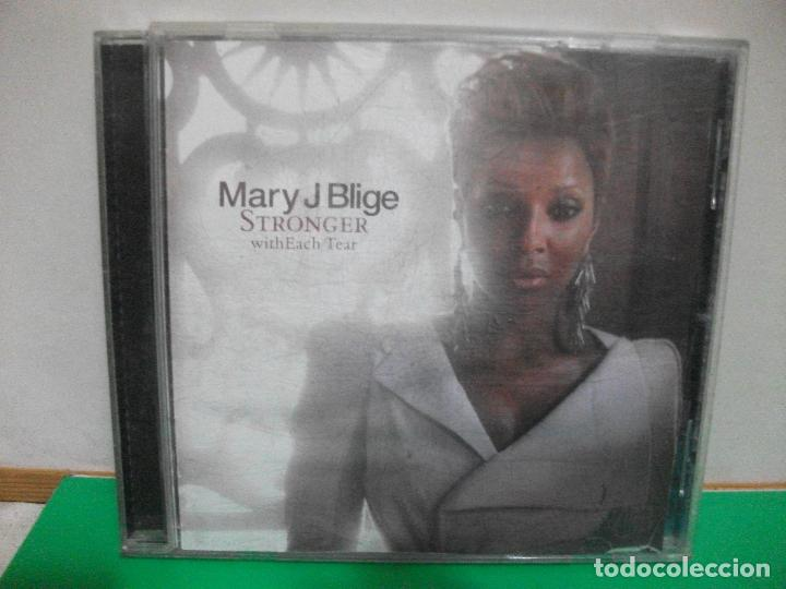 MARY J BLIGE-STRONGER WITH EACH TEAR CD ALBUM
