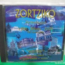 CDs de Música: ZORTZIKO ANTOLOGIA 1300 - 2000 BILBAO 700 ANIVERSARIO CD ALBUM NUEVO¡¡ PEPETO. Lote 153261370