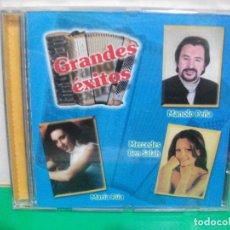 CDs de Música: GRANDES EXITOS MANOLO PEÑA , MERCEDES BEN SALAH, MARIA RUA CD ALBUM PEPETO. Lote 153261538