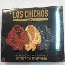 CDs de Música: LOS CHICHOS. ORO. PACK 3 CDS NUEVOS. Lote 153311325