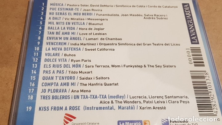 CDs de Música: LA MARATÓ DE TV3 2017 / MALALTIES INFECCIOSES / CD - 19 TEMAS / PRECINTADO. - Foto 2 - 226888260