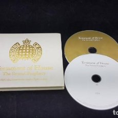 CDs de Música: TESTAMENT OF HOUSE THE SECOND PROPHECY 2 CD. Lote 153332382