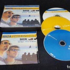 CDs de Música: CD IBIZA RESIDENT DJS DJ PIPPI,CESAR DE MELERO 3 CD. Lote 153333954