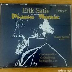 CDs de Música: ERIK SATIE. PIANO MUSIC. HAKON AUSTBO. DOBLE CD.. Lote 153347525