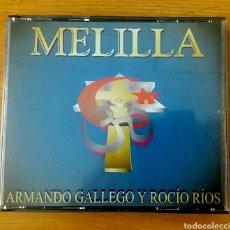 CDs de Música: MELILLA. VV AA. DOBLE CD. RAREZA.. Lote 153348596