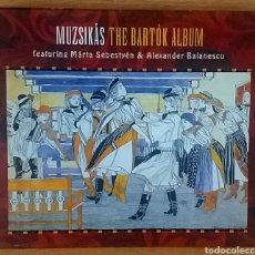 CDs de Música: MUZSIKÁS. THE BARTÓK ALBUM.. Lote 153349264