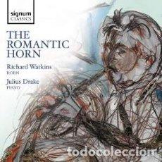 CDs de Música: VARIOS COMPOSITORES - THE ROMANTIC HORN (CD) RICHARD WATKINS. Lote 153371054
