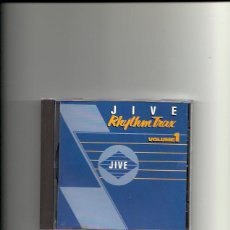 CDs de Música: JIVE RHYTHM TRAX. VOLUME 1 ( CD ALBUM 1989). Lote 153380226