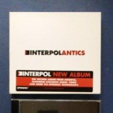 CDs de Música: CD INTERPOL - ANTICS 2004. . Lote 153381810
