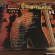CDs de Música: CRONICAS MARCIANAS CM PRESENTA STRIPTEASE 2CDS. Lote 153411658