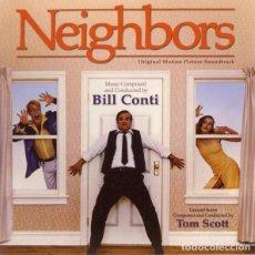CDs de Música: NEIGHBORS / BILL CONTI CD BSO - VARESE. Lote 153412430