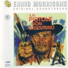 CDs de Música: LE PISTOLE NON DISCUTONO + L'AVVENTURIERO / ENNIO MORRICONE 2CD BSO. Lote 153412858