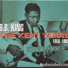 CDs de Música: CD B B KING THE KENT YEARS 1958/62 DOS DISCOS. Lote 153437086