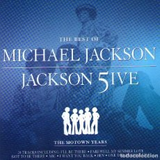 CDs de Música: THE BEST OF MICHAEL JACKSON - JACKSON FIVE - THE MOTOWN YEARS - CD 20 TRACKS - UNIVERSAL MUSIC 2001. Lote 153453086