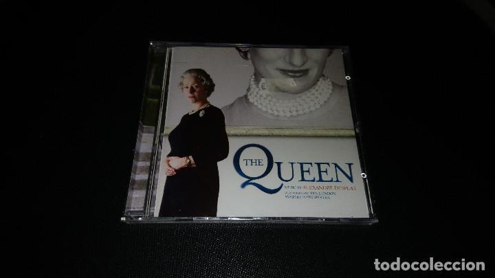 BSO THE QUEEN - ALEXANDRE DESPLAT CD (Música - CD's Bandas Sonoras)