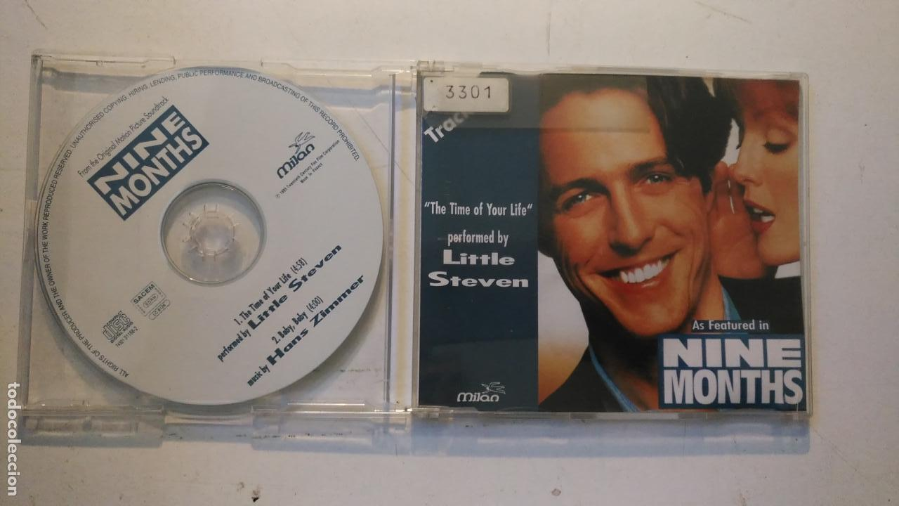 CD SINGLE PROMOCIONAL - NINE MONTHS - 2 TEMAS (Música - CD's Otros Estilos)