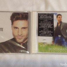 CDs de Música: DOS CD DAVID BUSTAMANTE: PENTIMENTO Y VIVIR, NUEVOS CON SUS PRECINTOS. Lote 155212929