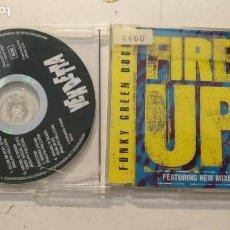 CDs de Música: CD SINGLE PROMOCIONAL - FUNKY GREEN DOGS - FIRE UP!. Lote 153495458