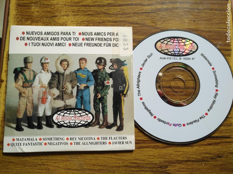 CD PROMOCIONAL PORTADA Y TRASERA MADELMAN - RARO AL-LELUIA RECORDS (Música - CD's Otros Estilos)