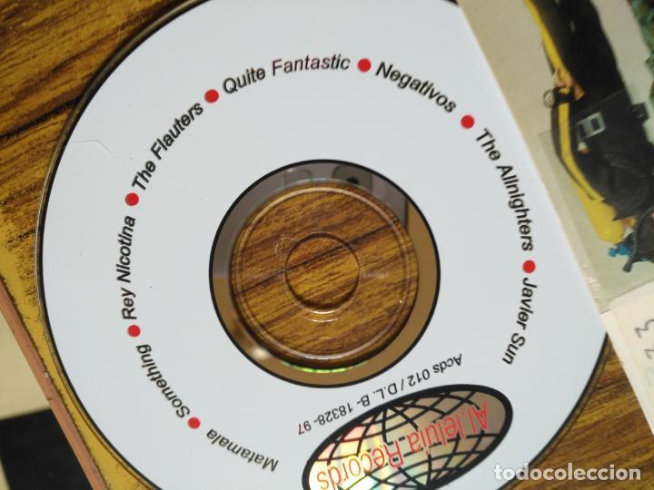 CDs de Música: CD PROMOCIONAL PORTADA Y TRASERA MADELMAN - RARO AL-LELUIA RECORDS - Foto 4 - 153644298