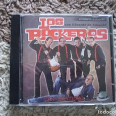 CDs de Música: CD. LOS ROCKEROS. POR SIEMPRE. FIRMADO POR TODOS LOS COMPONENTES DEL GRUPO. OCASION UNICA. Lote 153646826