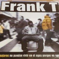 CDs de Música: FRANK T / LOS PÁJAROS NO PUEDEN VIVIR EN EL AGUA... / CD - ZONA BRUTA / MUY BUENA CALIDAD.. Lote 153653870