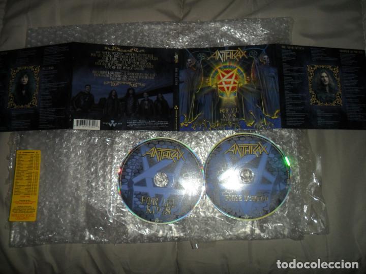 ANTHRAX - FOR ALL KINGS ( TOUR EDITION 2 CD DIGIPACK + BONUS ) CD (Música - CD's Heavy Metal)