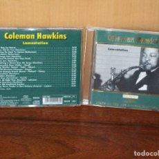 CDs de Música: COLEMAN HAWKINS - LAMENTATION - CD . Lote 153662966