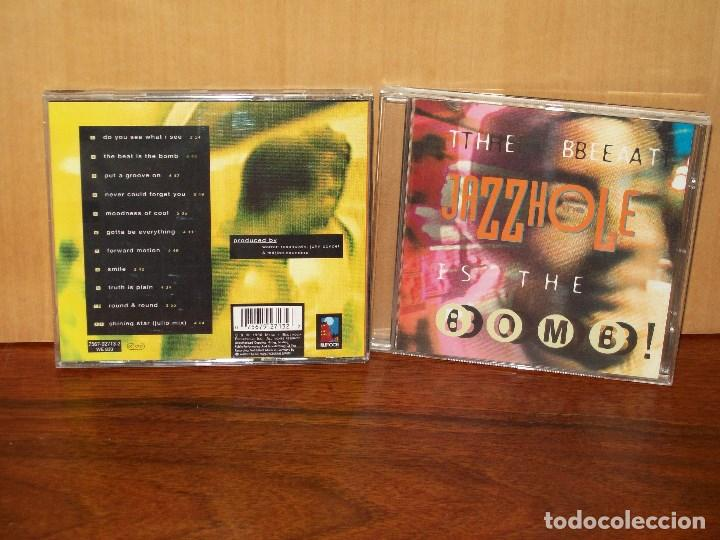 THE JAZZ HOLE - THE BEAT IS THE BOMB - CD