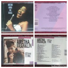 CDs de Música: LOTE 2 CD'S ARETHA FRANKLIN (ARETHA SINGS THE BLUES - JAZZ TO SOUL) * VER FOTOS. Lote 153686222