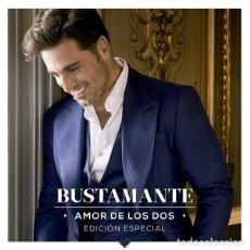 CDs de Música: DAVID BUSTAMANTE - AMOR DE LOS DOS EDICIÓN ESPECIAL - CD+DVD - DIGIPAK. Lote 153756030