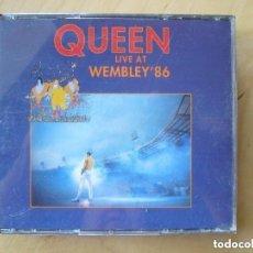 CDs de Música: QUEEN AT WEMBLEY 86 2 CD´S. Lote 153804902