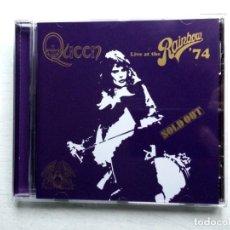 CDs de Música: CD QUEEN: LIVE AT THE RAINBOW 74. Lote 153854934