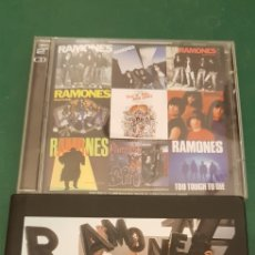 CDs de Música: 2CDS RAMONES + LIBRO. ANTHOLOGY. Lote 153855286