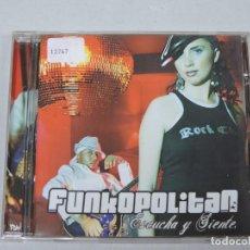 CDs de Música: FUNKOPOLITAN - ESCUCHA Y SIENTE CD. Lote 153860054
