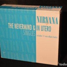 CDs de Música: NIRVANA - THE NEVERMIND & IN UTERO SINGLES - CD SINGLES . Lote 153927582