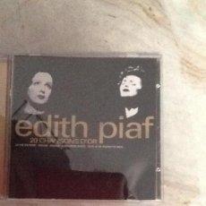 CDs de Música: EDITH PIAF. 20 CHANSONS DÓR. Lote 153935458