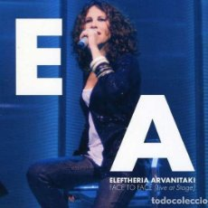 CDs de Música: ELEFTHERIA ARVANITAKI ‎– FACE TO FACE [LIVE AT STAGE]. 2CD + DVD. GRECIA. WORLD MUSIC. Lote 153957146